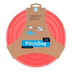 Pitch Dog Letajíci talíř Pitch dog růžový