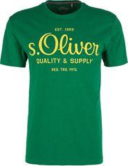 s.Oliver Pánske tričko 03.899.32.5264.7662 Green
