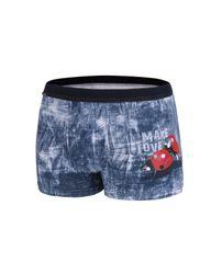 Cornette Pánské valentýnské boxerky Cornette 010/61 Make Love