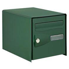 Decayeux schránka na dopisy, zelená