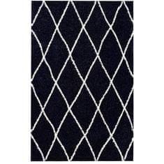 Nazar kusový koberec, 120x160 cm, černý