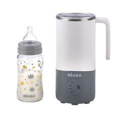 Béaba příprava mléka a sterilizátor Milk, 450 ml nerezový šedý