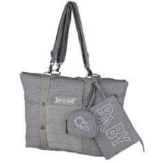 Baby On Board přebalovací taška, šedá
