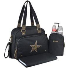 Baby On Board přebalovací taška, černá