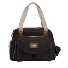 Béaba přebalovací taška ke kočárku, černá