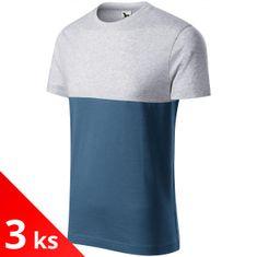 Malfini 3x Dvojfarebné tričko