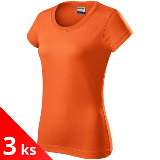 Rimeck 3x Oranžové Dámske odolné tričko