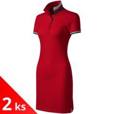 Malfini Premium 2x Dámské šaty s límcem nahoru