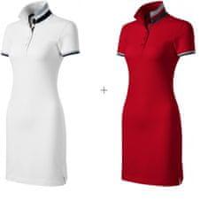 Malfini Premium 2x Dámske šaty s golierom hore