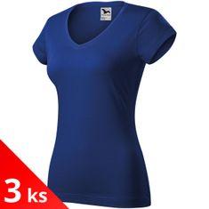 Malfini 3x Dámské triko s hlubším V výstřihem