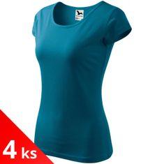 Malfini 4x Dámske tričko s veľmi krátkym rukávom