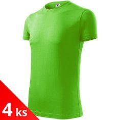 Malfini 4x Pánske módne tričko
