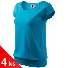 Malfini 4x Dámske pohodlné tričko