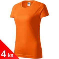 Malfini 4x Dámské triko jednoduché