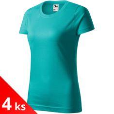 Malfini 4x Dámske tričko jednoduché
