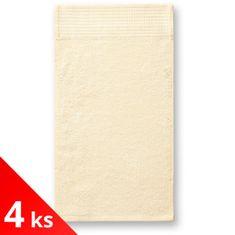 Malfini Premium 4x Malý bambusový ručník, 30x50cm