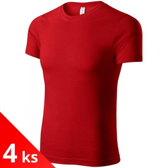 Piccolio 4x Červené Detské ľahké tričko