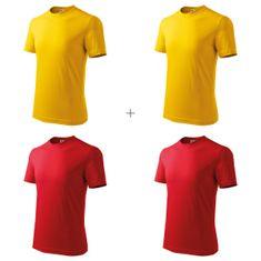 Malfini 4x Dětské tričko klasické