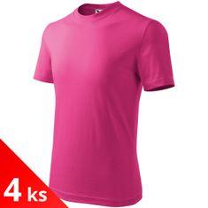 Malfini 4x Detské tričko jednoduché