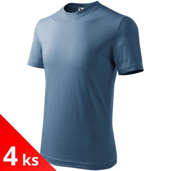 Malfini 4x Denim Detské tričko jednoduché