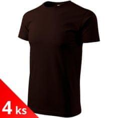 Malfini 4x Pánské triko jednoduché