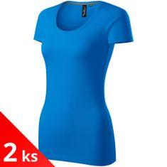Malfini Premium 2x Dámské ozdobené tričko