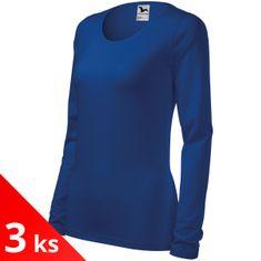 Malfini 3x Dámské triko s dlouhými rukávy a kulatým výstřihem