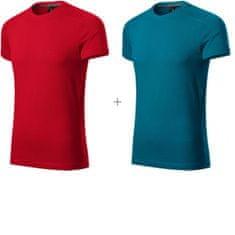 Malfini Premium 2x Pánske ozdobené tričko