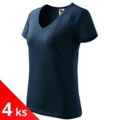 Malfini 4x Dámské triko s V-výstřihem