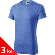Malfini 3x Pánske tričko s vyhrnutými rukávmi