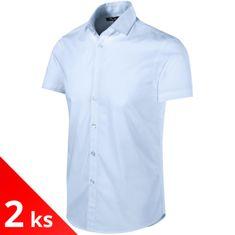 Malfini Premium 2x Pánska košeľa Slim fit