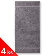 Malfini 4x Bavlnený uterák hrubší, 50x100cm