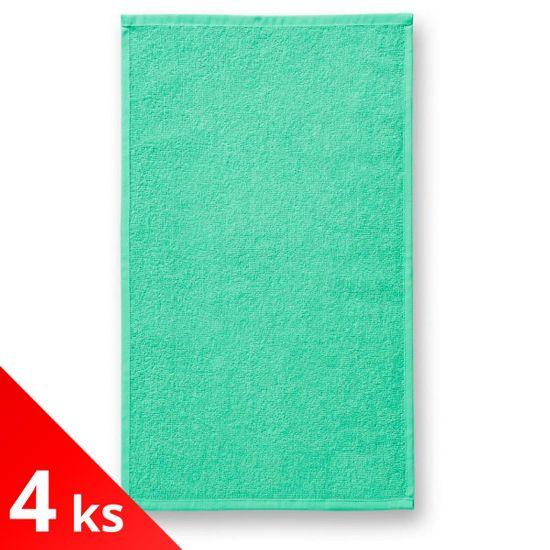 Malfini 4x Mätový Malý bavlnený uterák, 30x50cm