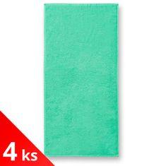 Malfini 4x Bavlnený uterák 50x100cm