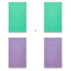 Malfini 4x Malý bavlnený uterák, 30x50cm