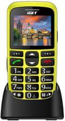 iGET Simple D7, žltá