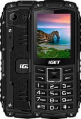 iGET Defender D10, čierna