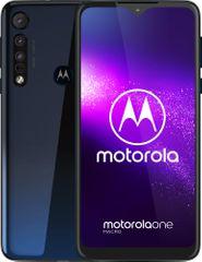 Motorola One Macro, 4GB/64GB, Deep Space