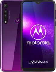 Motorola One Macro, 4GB/64GB, Ultraviolet