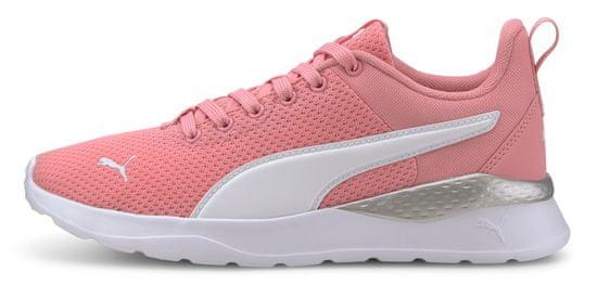 Puma dievčenské športové topánky Anzarun Lite Jr 37200404 35,5 ružová
