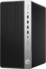 HP EliteDesk 705 G4 MT, čierna (4HN08EA)