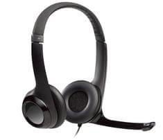 Logitech H390 slušalke, črne