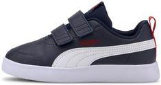 Puma Chlapčenské topánky Courtflex v2 V PS 37154301