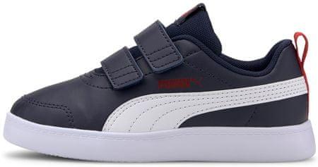 Puma Fiú cipő Courtflex v2 V PS 37154301, 34, kék