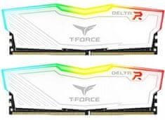 TeamGroup Delta RGB 16GB Kit (2x8GB) DDR4-3200, DIMM, CL16 memorija (TF4D416G3200HC16CDC01)