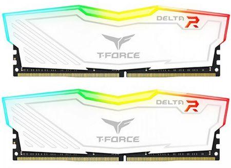 TeamGroup Delta RGB 16GB Kit (2x8GB) DDR4-3200, DIMM, CL16 pomnilnik (TF4D416G3200HC16CDC01)