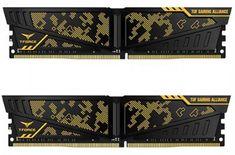 TeamGroup Vulcan TUF 16GB Kit (2x8GB) DDR4-3200, DIMM, CL16 memorija (TLTYD416G3200HC16CDC01)