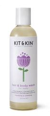 Kit & Kin Haj- és test sampon 250 ml