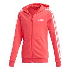 Adidas lány pulóver YG E 3S FZ HD