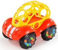 Oball Játékautó Rattle & Roll Oball™ piros/sárga 3 m+